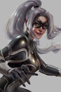 Catch me if you can Black Cat from Marvels Spider-Man Cris Delara - - Ideas of - Catch me if you can Black Cat from Marvel s Spider-Man for Cris Delara Airworthy Comics Spiderman Black Cat, Black Cat Marvel, Spiderman Art, Marvel Women, Marvel Girls, Comics Girls, Marvel Art, Marvel Heroes, Batgirl
