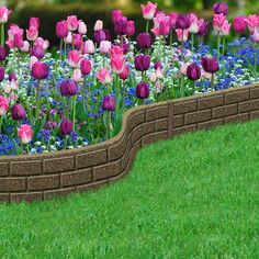 Find The Ecoborder L Shaped Edging At Any Home Depot Or 640 x 480