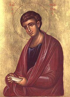 Orthodox icon of Saint Philip the Apostle Commemorated November St Philippe, Greek Icons, Spirituality Books, Byzantine Icons, Orthodox Christianity, Orthodox Icons, St Thomas, Christen, Kirchen