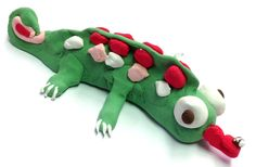 Chameleon Model Magic · Art Projects for Kids Sculpture Lessons, Sculpture Projects, Clay Projects For Kids, Art Projects, Kids Clay, Project Ideas, Insects For Kids, Easy Yarn Crafts, Simple Crafts