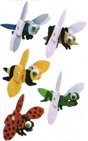 Insect Whirligig Plan « WoodProjects.com WoodProjects.com