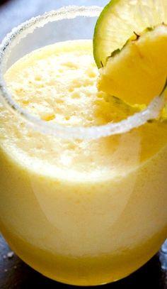 Fresh Pineapple Margarita pineappl margarita, fresh pineappl