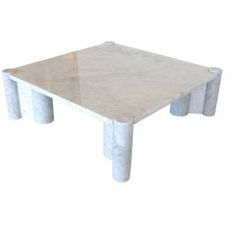 Gae Aulenti Marble Coffee Table #coffeetabledesign modern coffee table #marbledesign marble coffee table #livingroomdesign the living room . See more at www.coffeeandsidetables.com