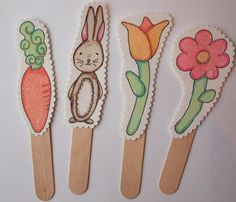 printable Easter Puppets