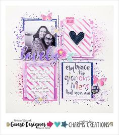 """6 Likes, 1 Comments - Charms Creations (@charms_creations) on Instagram: """"Today is Gwen's last share as Guest Designer- she had not disappointed with this absolutely…"""""""