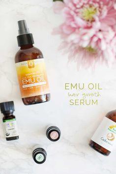 Get thicker, healthier hair overnight with this Emu oil hair serum | Wellnesting
