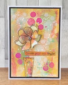 Tracy Evans: Create Your Own Magic Card Making Inspiration, Art Journal Inspiration, Making Ideas, Magic Design, Gelli Printing, Art Journal Pages, Art Journals, Card Patterns, Artist Trading Cards