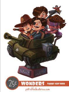 Tanks Guv'nor (by Patrick Ballesteros)