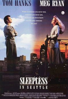 Hanks and Ryan. America's sweethearts.Sleepless in Seattle was their first - and best - on-screen coupling.