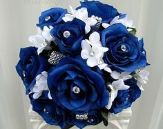 Mmmm blue roses