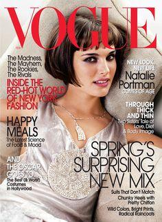 Natalie Portman by Mario Testino Vogue US February 2004