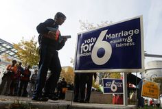 As the U.S. Supreme Court meets on Friday to consider whether to wade into the issue of gay marriage, the justices face a reality not even a month old: For the first time, voters have chosen to legalize same-sex nuptials.