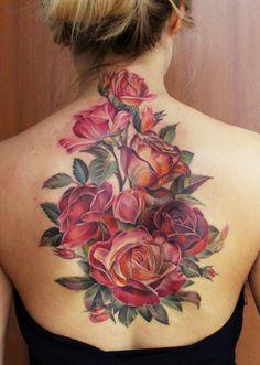 Tattoos I've done and tattoos I like Octopus Tattoo Sleeve, Sleeve Tattoos, Pink Rose Tattoos, Flower Tattoos, Incredible Tattoos, Beautiful Tattoos, Beautiful Roses, Realistic Rose Tattoo, Botanical Tattoo