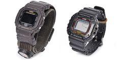 Links het horloge dat Marco Kroon en zijn mannen kregen voor Task Force Orange, Operation Enduring Freedom, 2005. Het horloge is voorzien van een kompasje. Rechts zijn horloge van Task Force Viper, gedragen gedurende de Deployment Task Force periode in 2006.