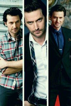 Yes, yes, and yes. Richard Armitage