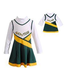 Washington Redskins Preschool Girls Team Spirit 2-Piece Cheerleader Set - Burgundy/White