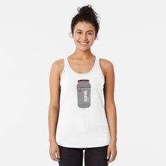 Isopure Protein Powder, Racerback Tank Top, Basic Tank Top, Tank Tops, Cotton, Shirts, Women, Fashion, Moda