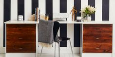 Get Stuff Done at a Mid-Century Desk  - HouseBeautiful.com