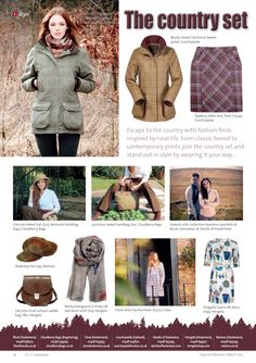 ~ The country set ~ From classic tweed to contemporary country, wear it your way... #locallife #Haslemere #Surrey #style #fashion #country #tweed