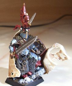 The Round Table of Bretonnia - Re:Paladin on foot conversion - Forums