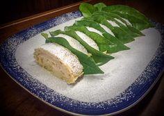 Lemon cream Roll cake