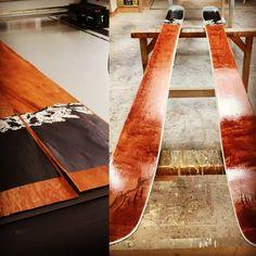Skiprint Butcher Block Cutting Board