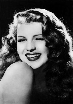 Rita Hayworth in a promotional still for Gilda, 1946.