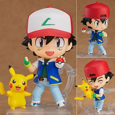 Figurine Nendoroid Sacha (Red) – Pokemon