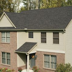 Best Owens Corning Driftwood House Paint Exterior House Roof 400 x 300