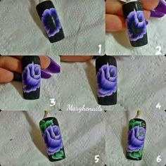 китайка Nails & Co, Toe Nails, One Stroke Nails, Nails First, Floral Nail Art, One Stroke Painting, Nail Decorations, Nail Art Hacks, Flower Nails