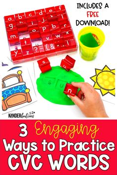 We know that most students need lots of practice writing CVC (consonant, vowel, consonant) words. The trick is finding engaging ways for them to practice, so that they want to do it. Click to learn more about 3 CVC centers & activities that our students LOVE and BEG to do! Includes a FREE download!