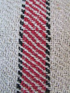 I learned how to weave this year.  (2013)