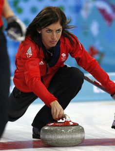 DAY 5:  Eve Muirhead of Great Britain during the Curling Women's Round Robin Session 3 - Great Britain vs. USA