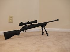 Mossberg 100 ATR in .308 Win – $310 Primary Arms 3-9×40 Scope and Rings – $105 Winchester 6″-9″ Bipod – $40 TOTAL: $455