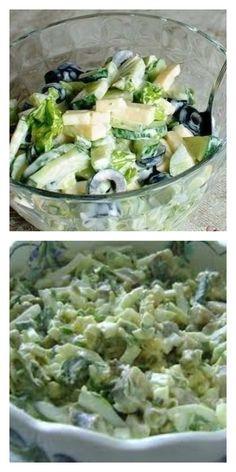 Огуречный салат с маслинами и сыром: готовь его хоть каждый день! - lucheedlavas.ru