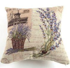 1 Blumen dekorative Bettwäsche Baumwolle Kissenbezug Kissen decken 18 X 18 cm