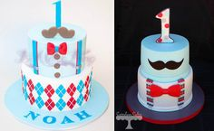 1st birthday cakes for boys by It's A Cake Thing and Cuteology Cakes