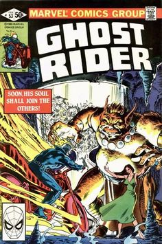 Cover for Ghost Rider (Marvel, 1973 series) #53 February 1981