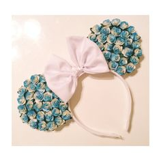 House Of Mouse Baby Blues Floral Mouse Ears