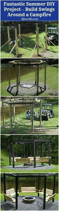 For my backyard...love the idea