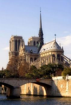La catedral de #PARÍS #NotreDame, es la catedral gótica por excelencia. http://www.viajaraparis.com/?page=isladelacite.php