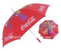 Coke golf umbrella