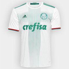 Camisa Adidas Palmeiras II 2016 s nº - Torcedor - Branco e Verde 2b2724e570916