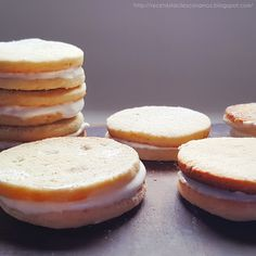 galletas de limon rellena sin gluten sin lactosa receta Rice Cake Recipes, Rice Cakes, Veggie Recipes, Gluten Free Recipes, Veggie Food, Deli, Bakery, Cheesecake, Muffin