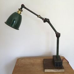1940s Industrial Dugdils Machinist Lamp Lamp Desk Lamp Table Lamp