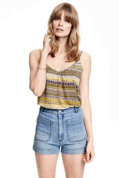 Top con scollo a V | H&M
