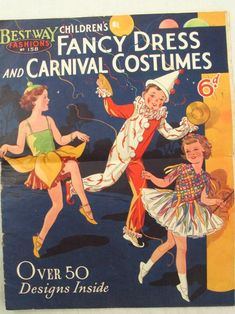 Bestway Fancy Dress and Carnival Costumes catalogue Halloween Costume Patterns, Halloween Fancy Dress, Halloween Kids, Happy Halloween, Halloween Costumes, Eve Costume, Last Minute Costumes, Fifties Fashion, Lavender Bags