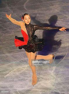 Mao Asada of Japan performs during the ISU World Team Trophy 2009 Gala Exhibition at Yoyogi National Gymnasium on April 19 2009 in Tokyo Japan