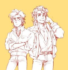 \\(*~*)//,Super cute,steve x billy,stranger things,fan art. Stranger Things Quote, Stranger Things Steve, Stranger Things Aesthetic, Stranger Things Season, Stranger Things Netflix, Pretty Things, Stranger Danger, Cute Gay, Cute Drawings