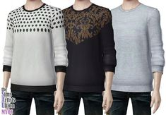 Sims 3 Updates - Myos Box : Long Sleeve shirt for males by Myos!